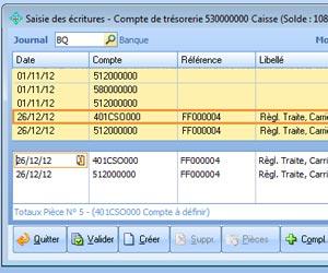 saisie comptabilité simplifiée