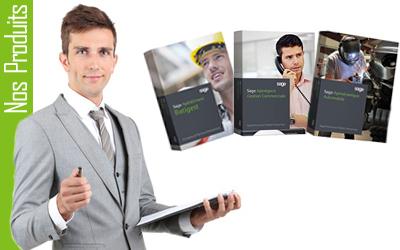 Sage Petites Entreprises pour les logiciels Apimécanique, Apinégoce, Apibâtiment et Apicommerce.
