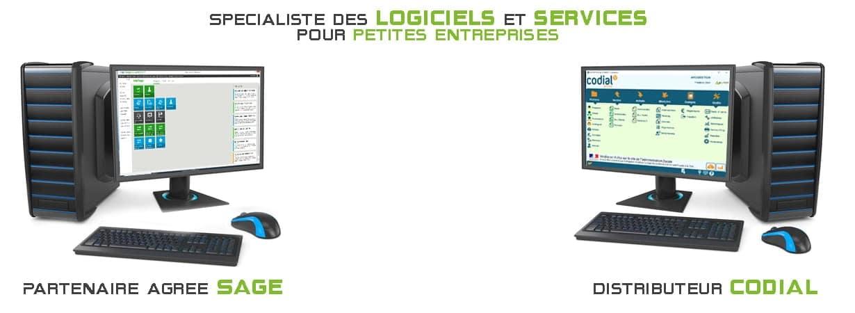 Spécialiste des logiciels et services pour petites entreprises